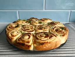 "Task 3: Cheddar Swirl ""Breakfast"" Buns"