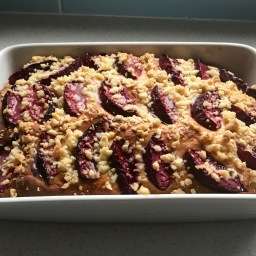 Task 10: Yeasted Plum Cake
