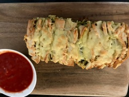 Task 19: Cheesy Pesto Pull-Apart Bread