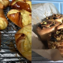 Tasks 28 & 29: Sweet Cheese Buns and Fitzrovia Buns